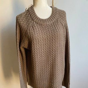 Cloth by Design sweater BNWT sz Large chunky weave